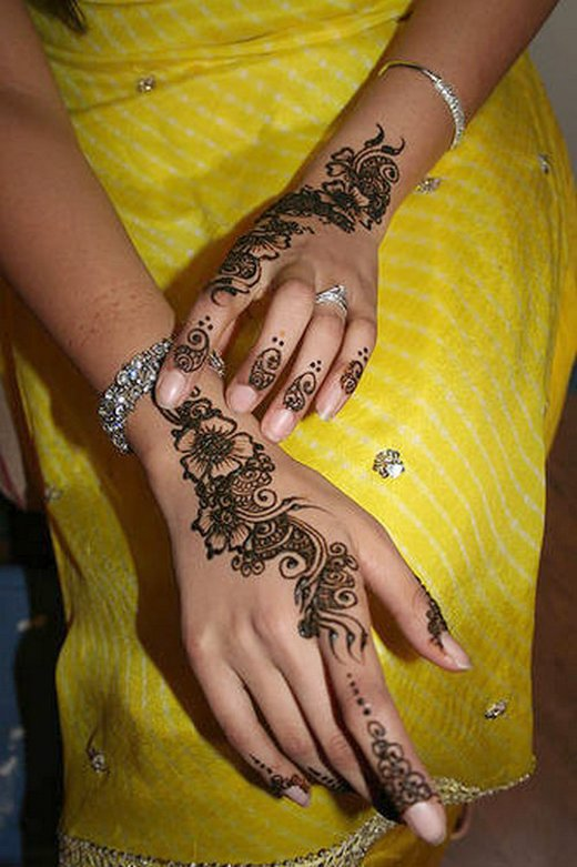 Asian Famous Mehndi Designs For Hand Finger (16)