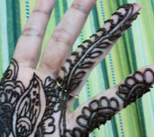 Asian Famous Mehndi Designs For Hand Finger (15)