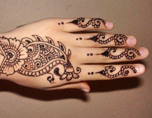 Asian Famous Mehndi Designs For Hand Finger (10)