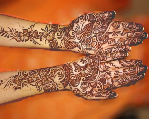 Asian Famous Mehndi Designs For Hand Finger (4)