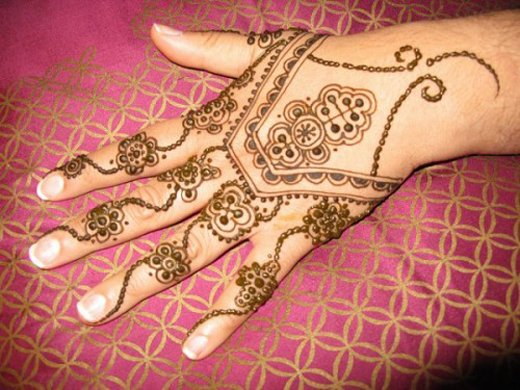 Asian Famous Mehndi Designs For Hand Finger (3)