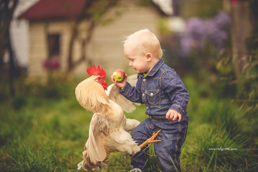 Children And Animals Photography Contest (7)