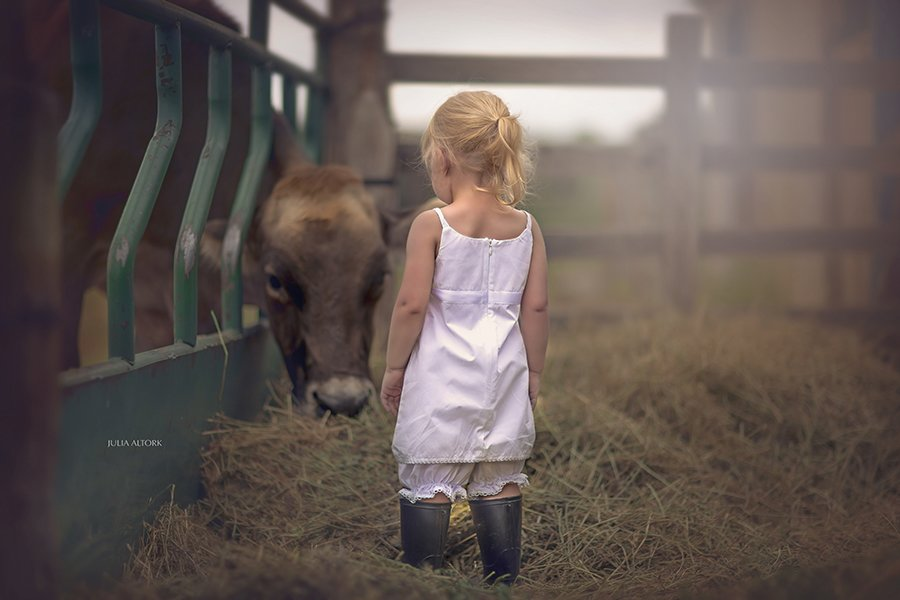 Children And Animals Photography Contest (5)