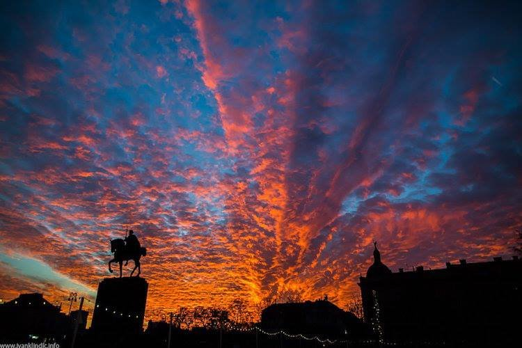 Beautiful zagreb Sunset Photos (8)