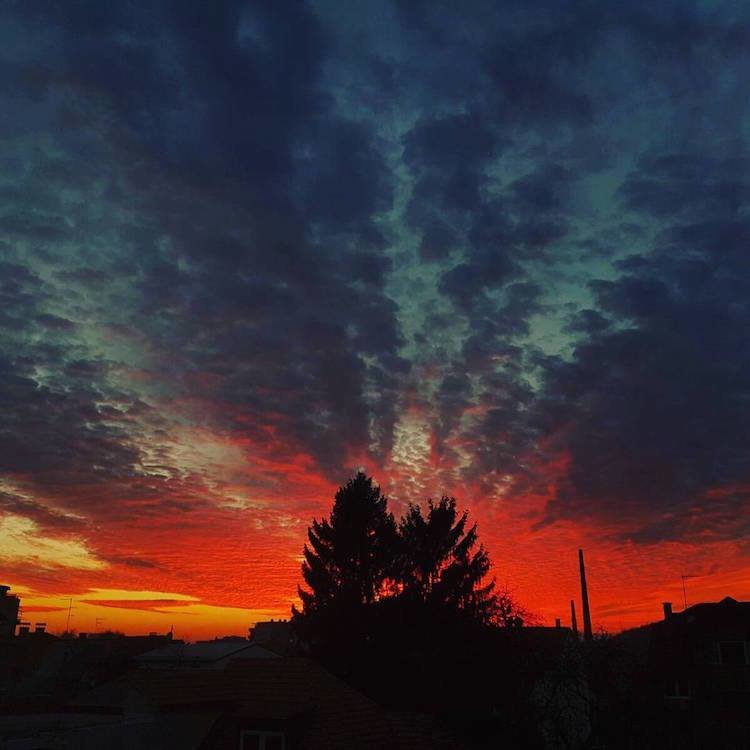 Beautiful zagreb Sunset Photos (5)