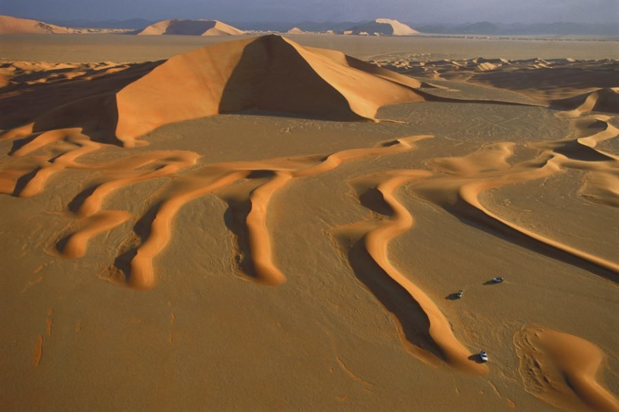 RUB' al KHALI (Arabic : EMPTY QUARTER)-Arabian Desert