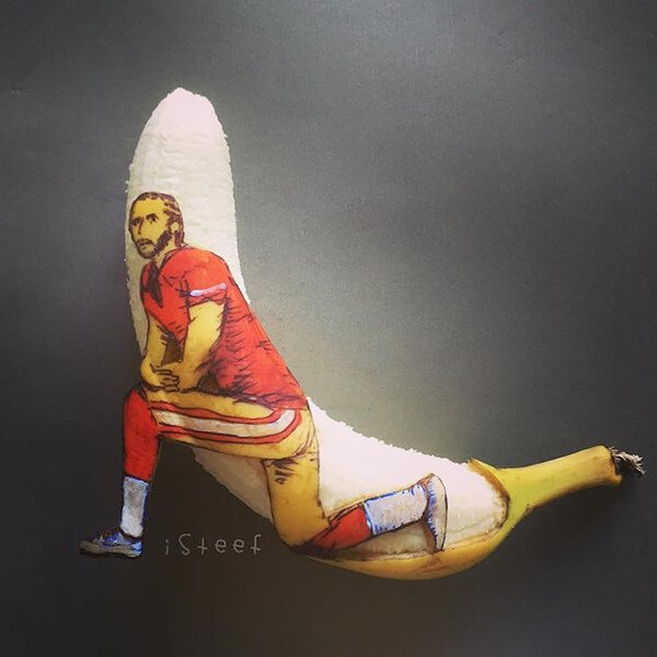 Beautiful Banana carving Art (3)
